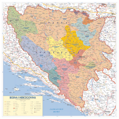 karta evrope sa postanskim brojevima Tematska zidna karta karta evrope sa postanskim brojevima
